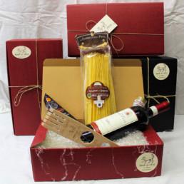 confezione regalo kit cacio e pepe magnum