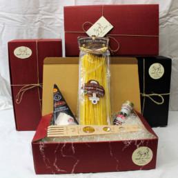 confezione regalo kit pasta cacio e pepe tradizionale