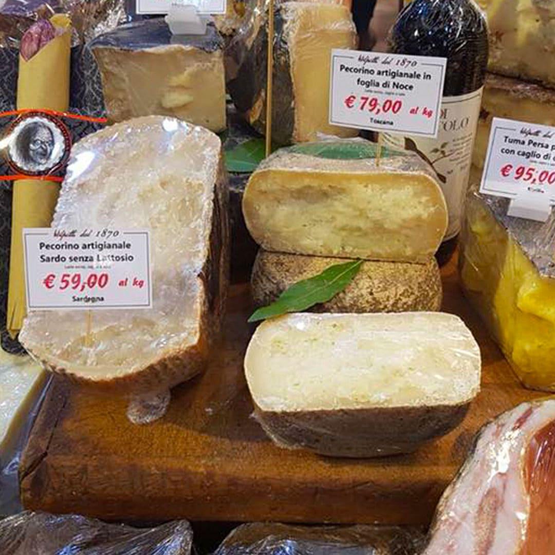 Il miglior negozio di formaggi italiani a Roma