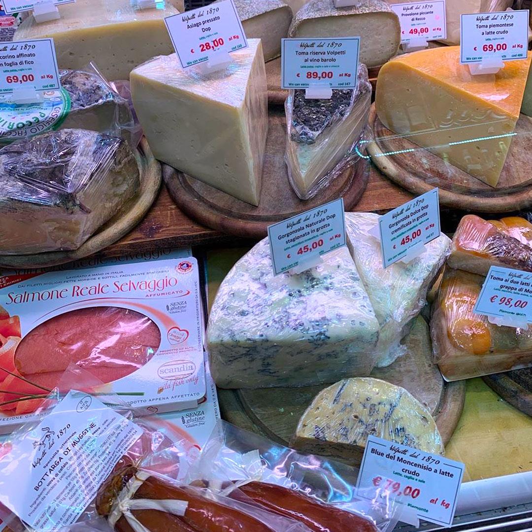 negozio formaggi
