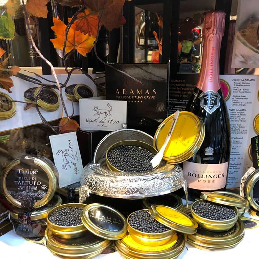 tartufo e champagne